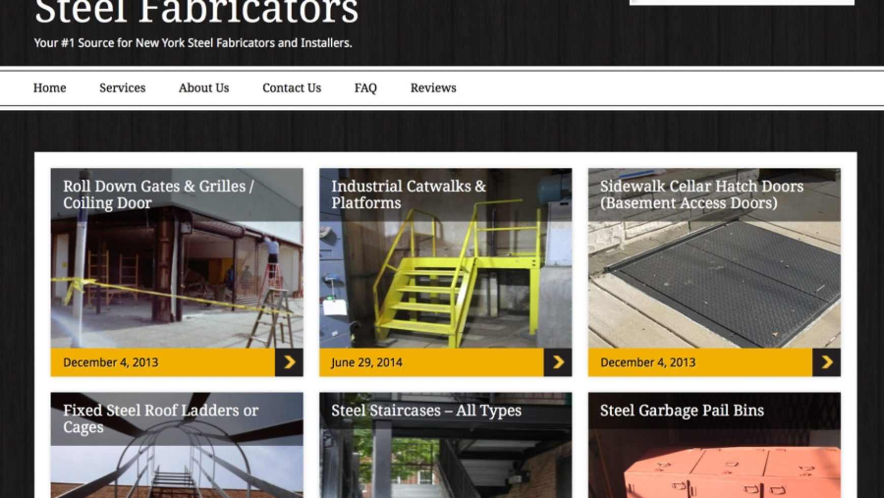 Steel Fabricators – Steel Fabrication Website